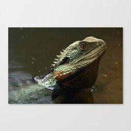 Waterdragon Swims Canvas Print