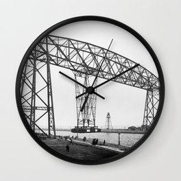 Aerial Lift Bridge, Duluth, Minnesota Wall Clock