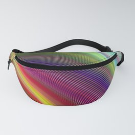 Vortex of colors Fanny Pack