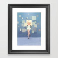 Square Display Framed Art Print