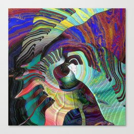 Keys To The Soul Canvas Print