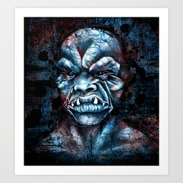 It Came from the Murk Art Print