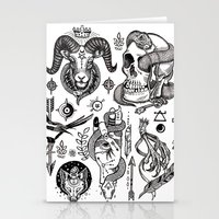 alchemy Stationery Cards featuring Lesser Alchemy by Polkip