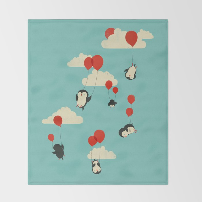 We Can Fly! Throw Blanket