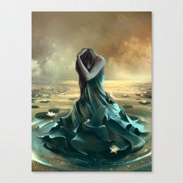 Vague à l'âme Canvas Print