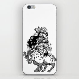 The Witch of Tribes iPhone Skin