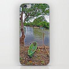 The fishing boat iPhone & iPod Skin