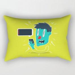 out of battery Rectangular Pillow