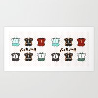 haikyuu Art Prints featuring Haikyuu!! Mug by timeflashh