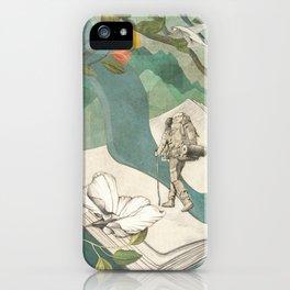 Nature Writing iPhone Case