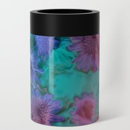 Flowers abstract #2 Can Cooler