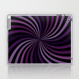 Purple Hypnotizing Swirl Laptop & iPad Skin