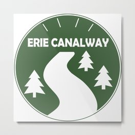 Erie Canalway Trail Metal Print