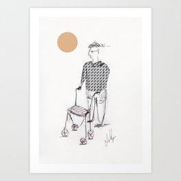 Rolator 01 Art Print