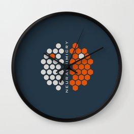 ..just neuralmimicry no.1 Wall Clock