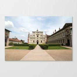Certosa di Pavia Canvas Print