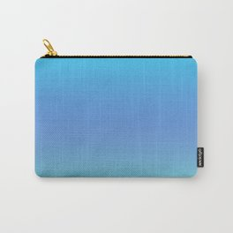 Lime Blue Gradient Carry-All Pouch