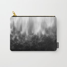 B&W Spotted Blur Carry-All Pouch