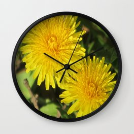 douce du printemps Wall Clock