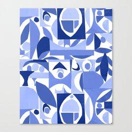 tango in blue ... Canvas Print
