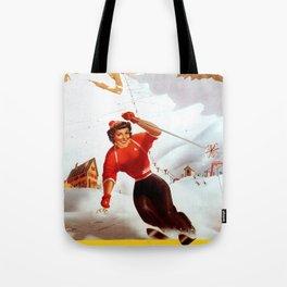 Limone Piemonte ski Italy Tote Bag