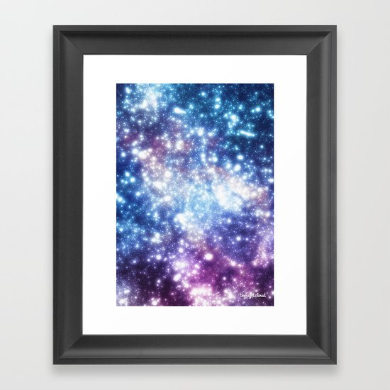 Map of the Stars Framed Art Print