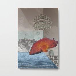 atmosphere 48 · the flying fish Metal Print