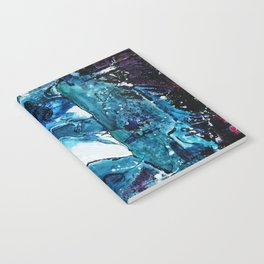 Faces in blue Notebook