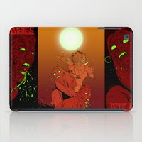 zombies iPad Cases featuring ZOMBIES by Marcus Wild