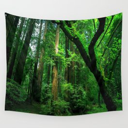 Enchanted forest mood II Wall Tapestry