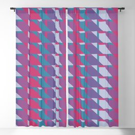 Abstract Drama #society6 #violet #pattern Blackout Curtain