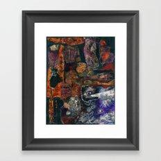 Seen and Unseen Framed Art Print