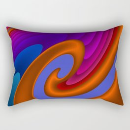 sweeping lines for your home -7- Rectangular Pillow