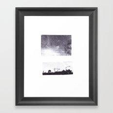 over Framed Art Print