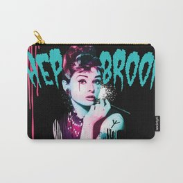 Hepbroom (Witch Audrey Hepburn) Carry-All Pouch