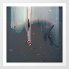 Falling Girl Art Print