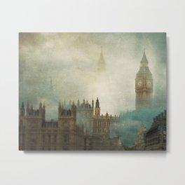 London Surreal Metal Print