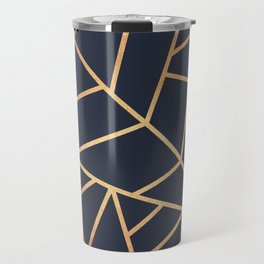 Copper and Midnight Navy Travel Mug