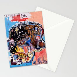 Jean-Michel Basquiat, Untitled Skull (1981) Society6 Online Priceless Artwork Stationery Cards