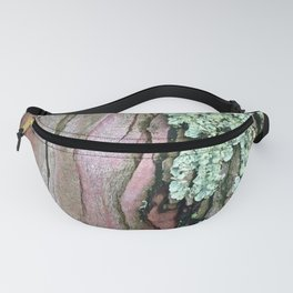 Tree Bark Pattern with Lichen #1 Fanny Pack