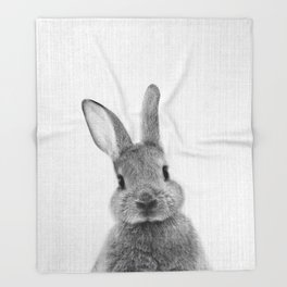 Print 48 - Peekaboo Bunny Throw Blanket