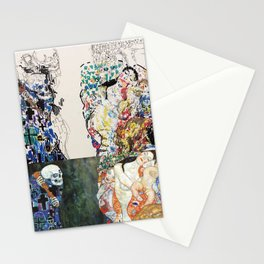 "Study of Klimt's ""Death and Life"" Stationery Cards"
