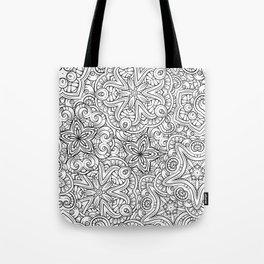 Mandalas pattern Tote Bag