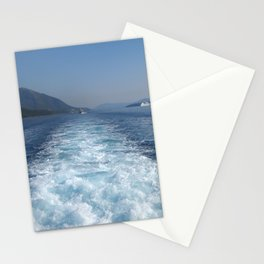 Rest on The Ionian Sea. Greek Islands. Stationery Cards