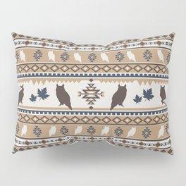 Boho animals | Autumn owl tan Pillow Sham