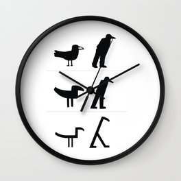 From Image to Sign Wall Clock