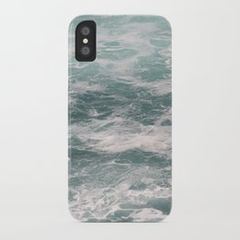 Blown Spume and Windrift iPhone Case