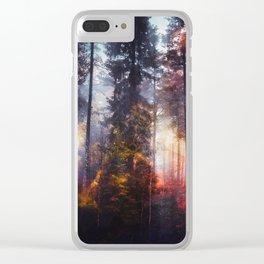 Warm fuzzy feelings Clear iPhone Case