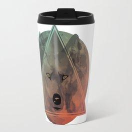 Wolf Galaxy (Green) Travel Mug