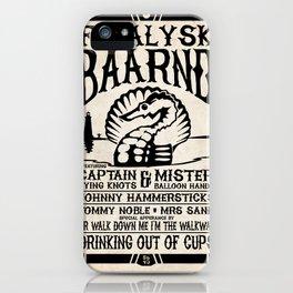Fatalysk Baarnd Concert Poster iPhone Case